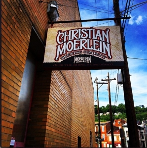 "The namesake of Cincinnati's ""Beer Series,"" the Christian Moerlein Brewing Company. Photo by Curt Whitacre."